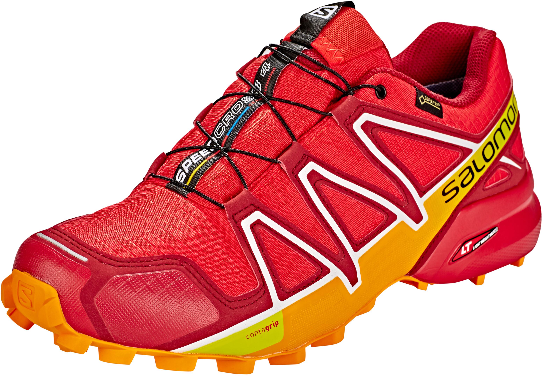 Salomon Speedcross 4 GTX scarpe da corsa Uomo rosso su Addnature 03376e8db33